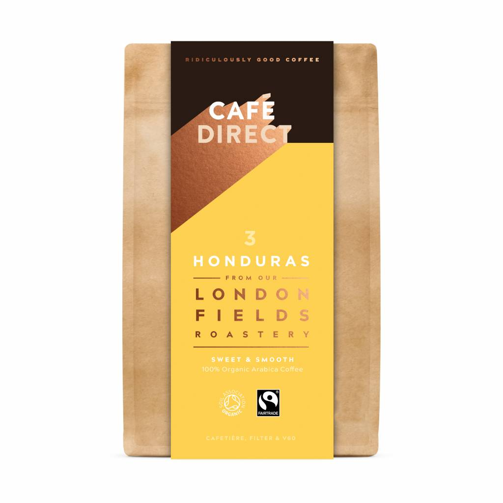 CafeDirect London Fields Honduras Ground Coffee (200g) gallery image #1