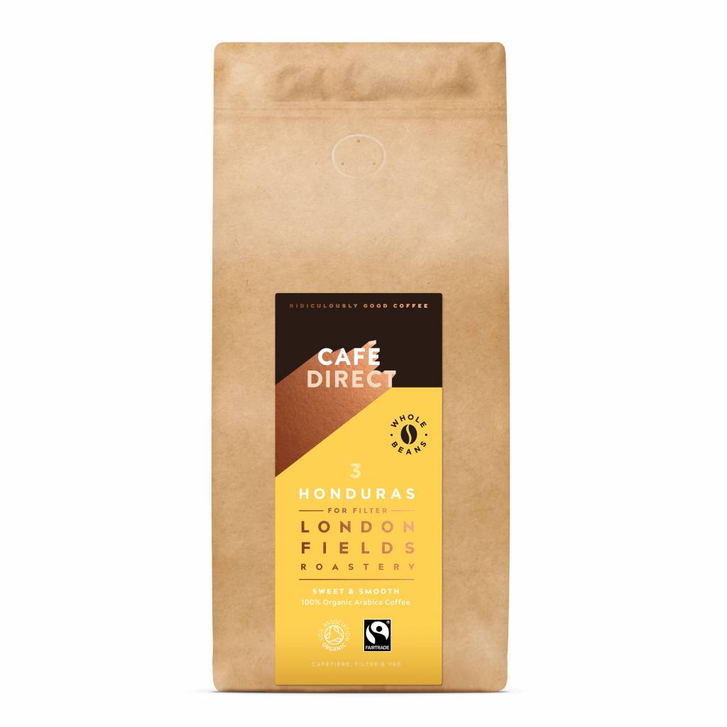 CafeDirect London Fields Honduras Beans (1kg) gallery image #1