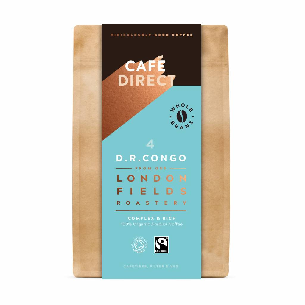 CafeDirect London Fields D.R. Congo Beans (200g) gallery image #1