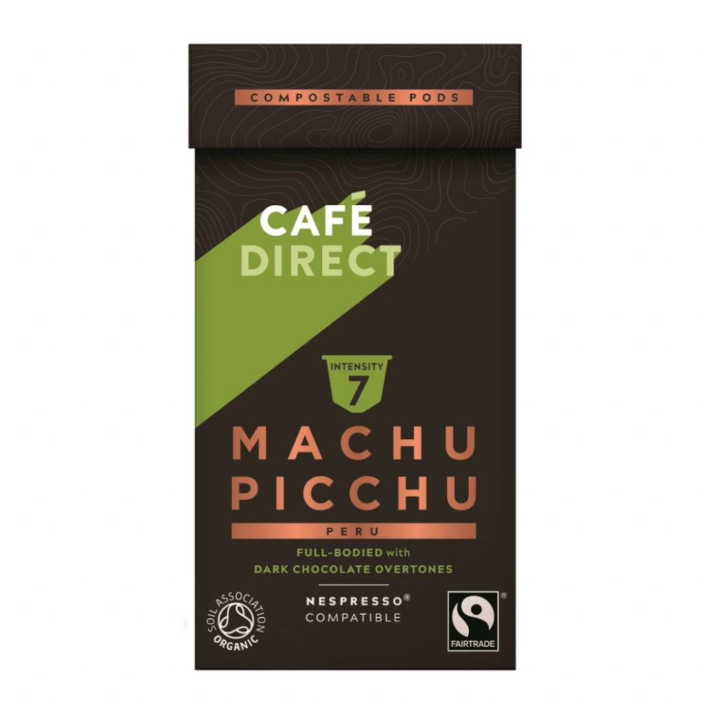 Cafedirect Peruvian Spirit Machu Picchu Coffee Pods gallery image #1