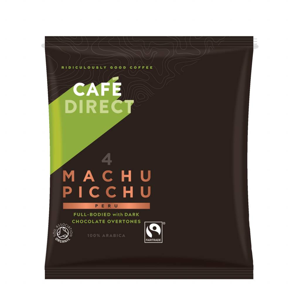 Cafedirect Machu Picchu Bulk Brew Coffee Sachets (25x180g) gallery image #1