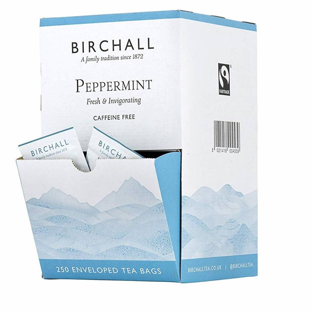 Birchall Peppermint Enveloped Tea Bags (250) gallery image #1