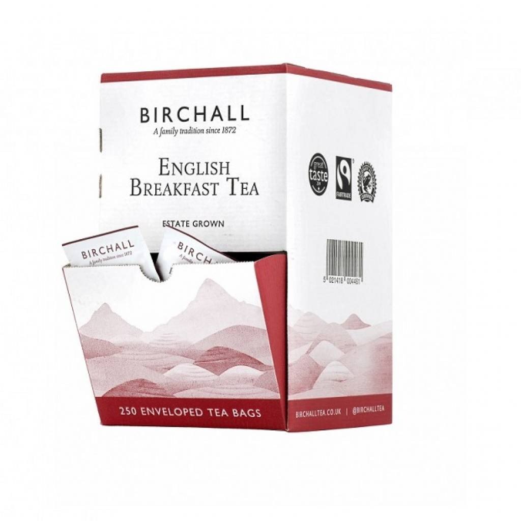 Birchall English Breakfast Enveloped Tea (250) gallery image #1