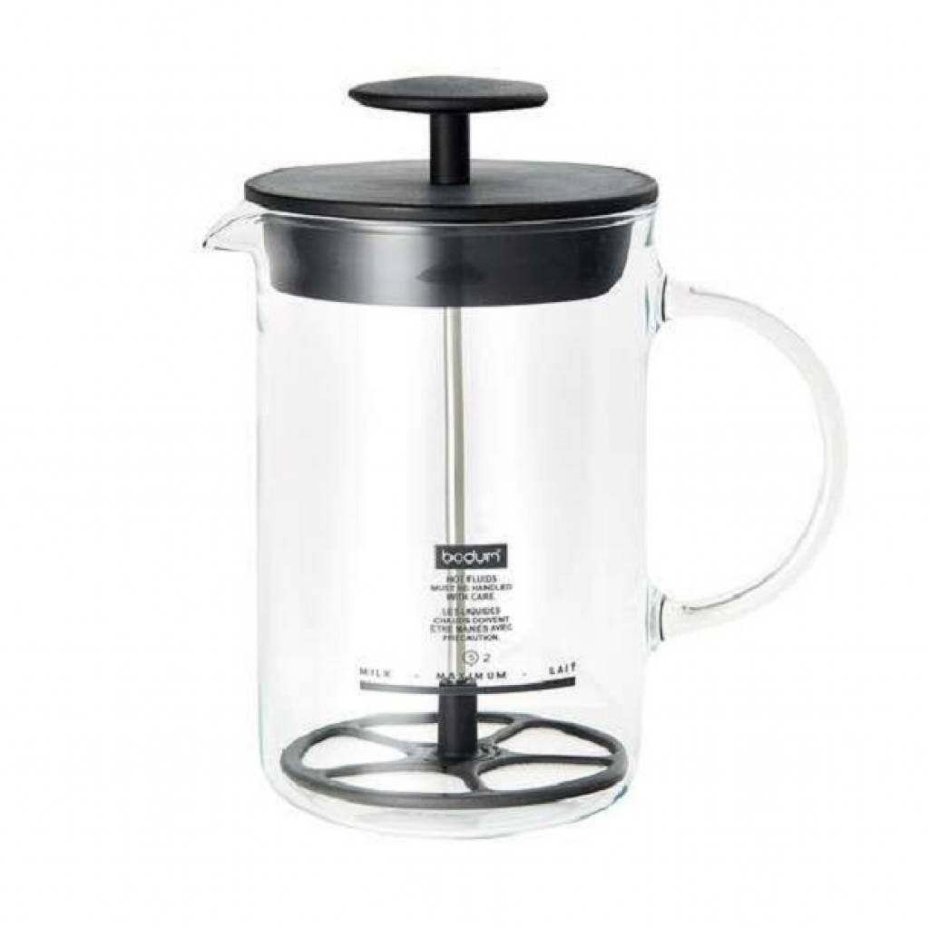 Bodum Latte Milk Frother with Glass Handle gallery image #1