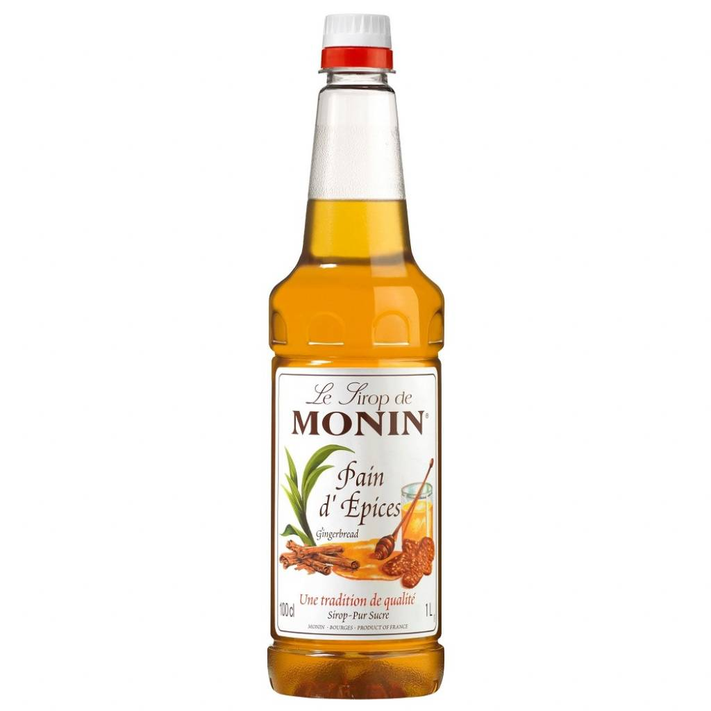 Monin Syrup Gingerbread 1L gallery image #1