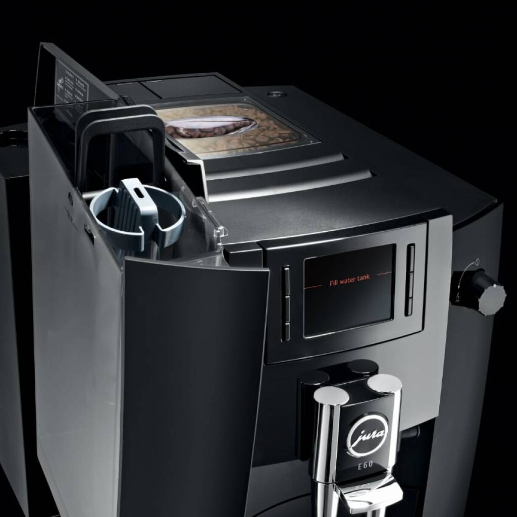 Jura E60 Piano Black gallery image #7