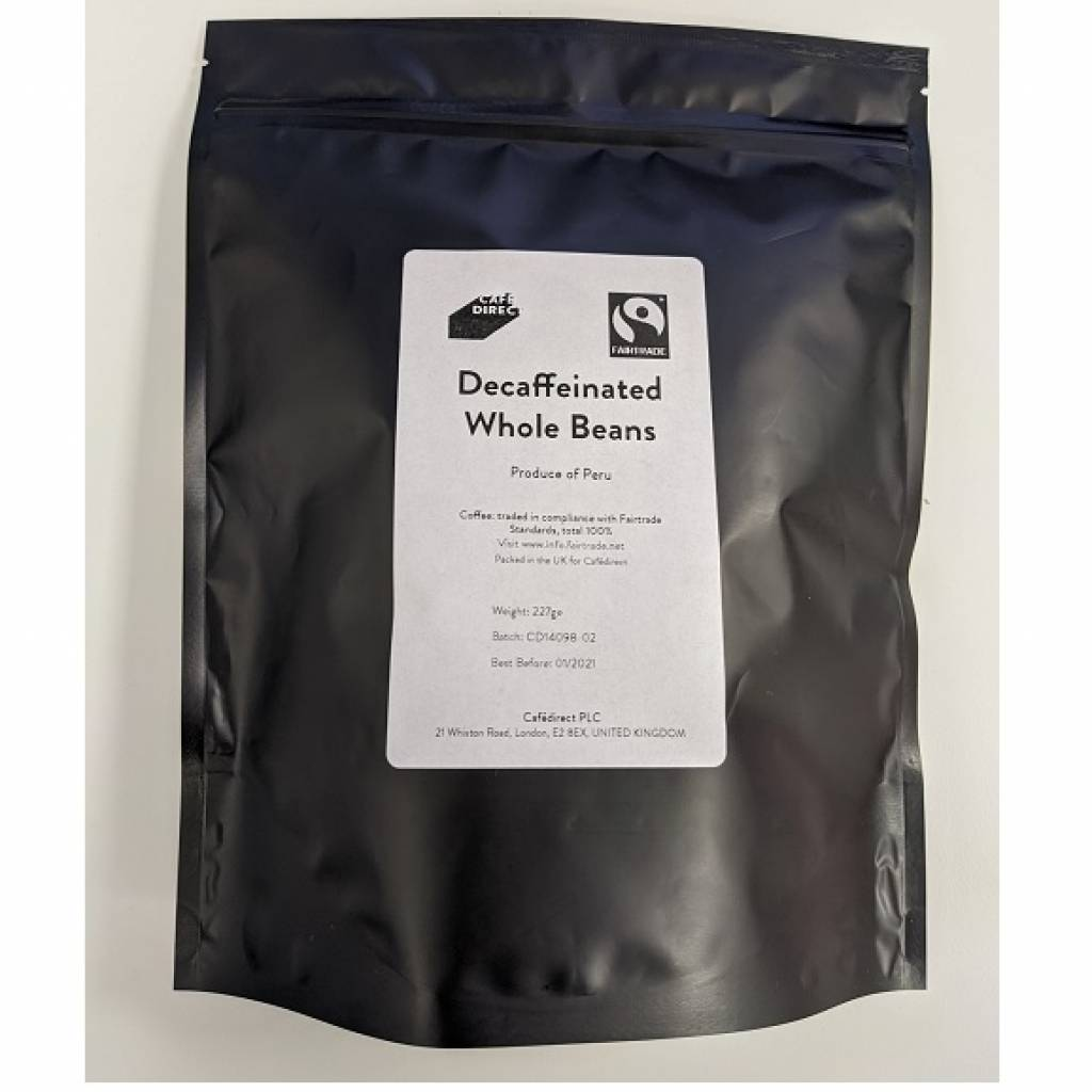 CafeDirect Decaf Whole Beans (227g) gallery image #1