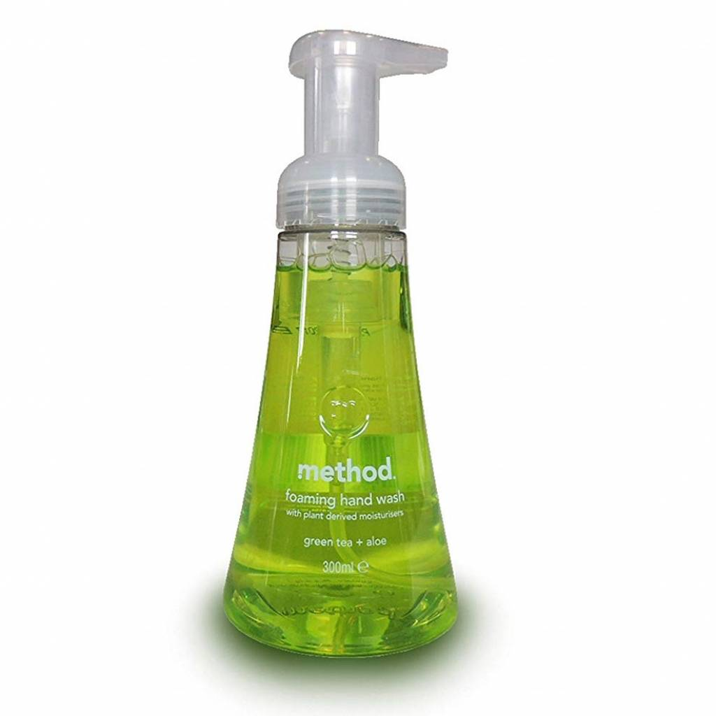 Method Foaming Handsoap Green Tea (300ml) gallery image #1