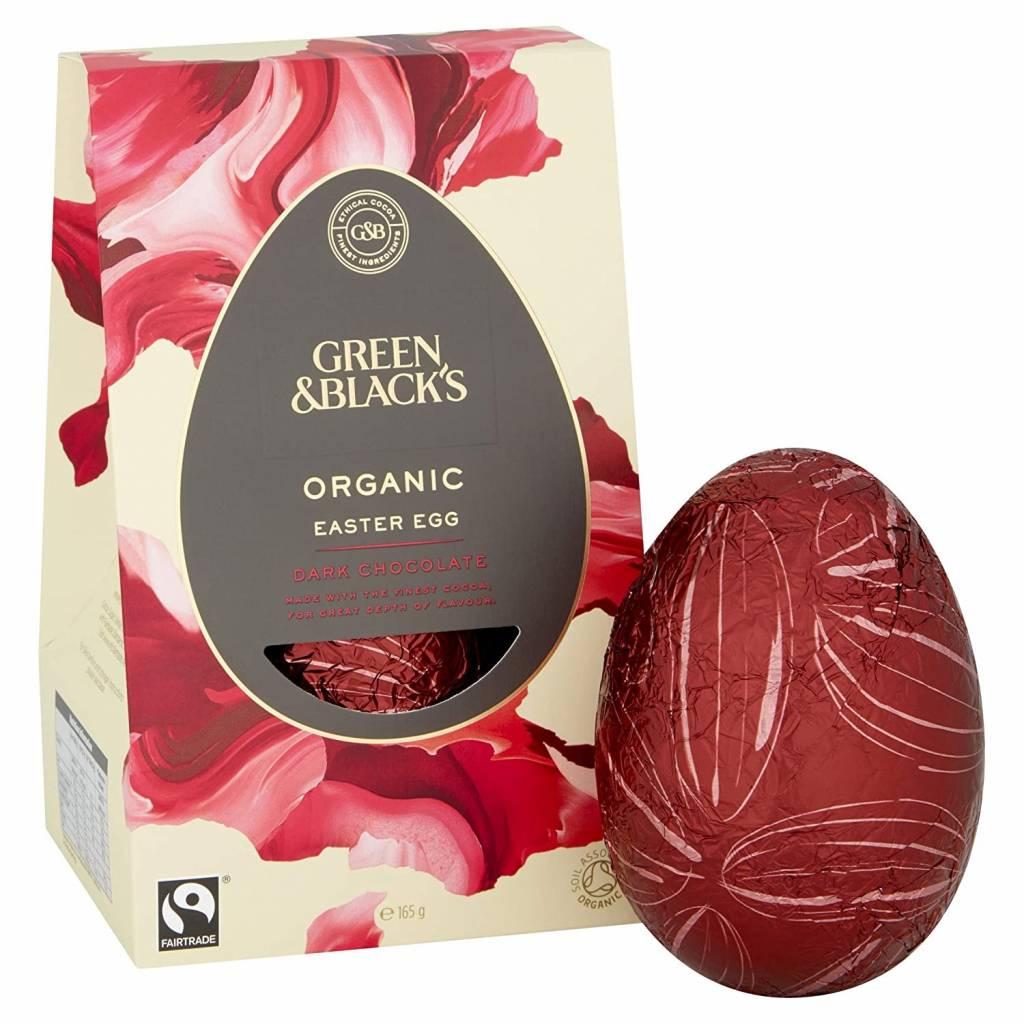 Green & Blacks Organic Thick-Shelled Dark Chocolate Egg (165g) gallery image #1