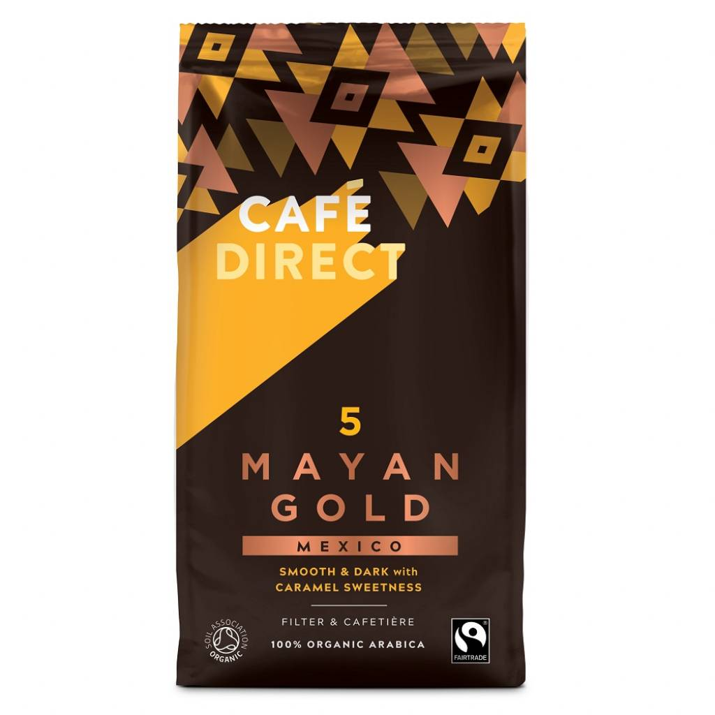 Cafedirect Mayan Gold Ground Coffee (227g) gallery image #1