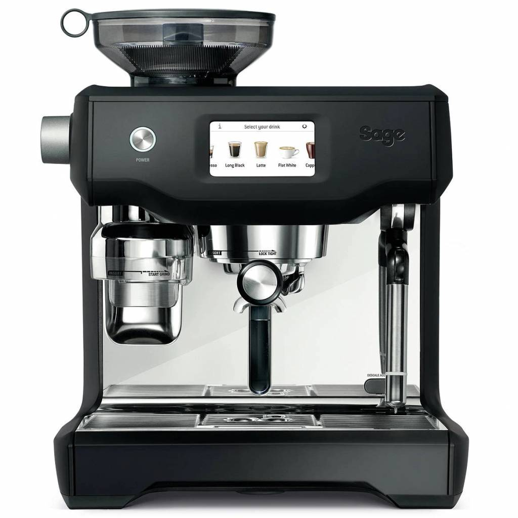 SAGE Oracle Touch Black Truffle Automatic Espresso Machine gallery image #1