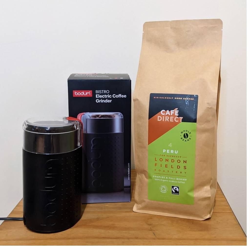 Bodum Bistro Coffee Grinder Package gallery image #1