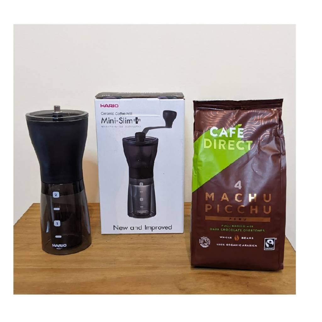 Hario Mini Mill Grinder Coffee Package gallery image #1
