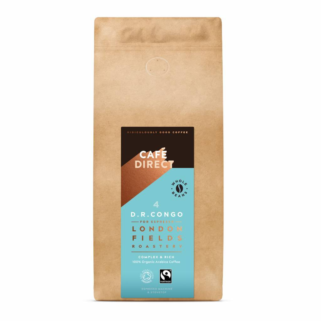 Cafedirect London Fields Coffee Beans Package gallery image #2