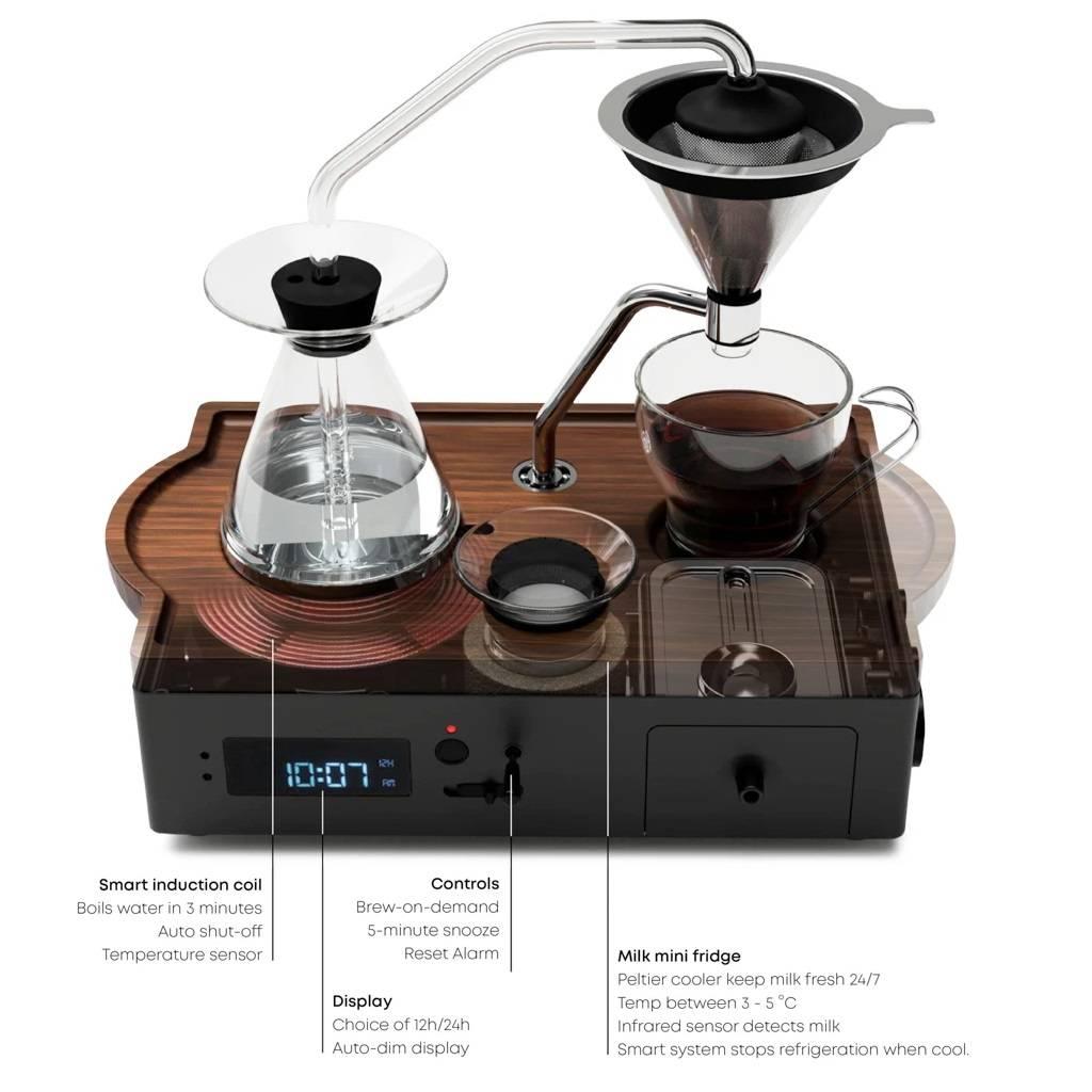 Barisieur Coffee Alarm Clock gallery image #3