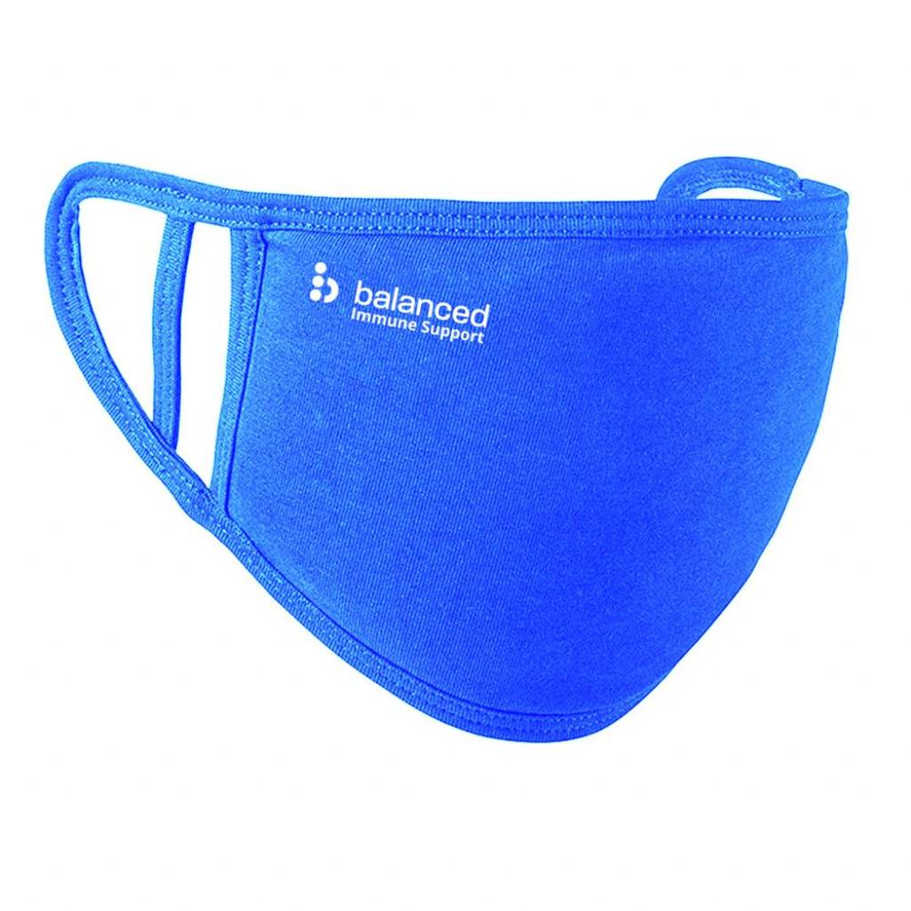 2 Ply Washable Face Mask Royal Blue gallery image #1