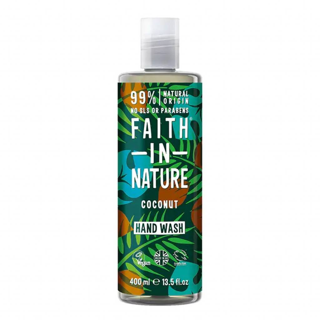 Faith in Nature Coconut Hand Wash 400ml gallery image #1