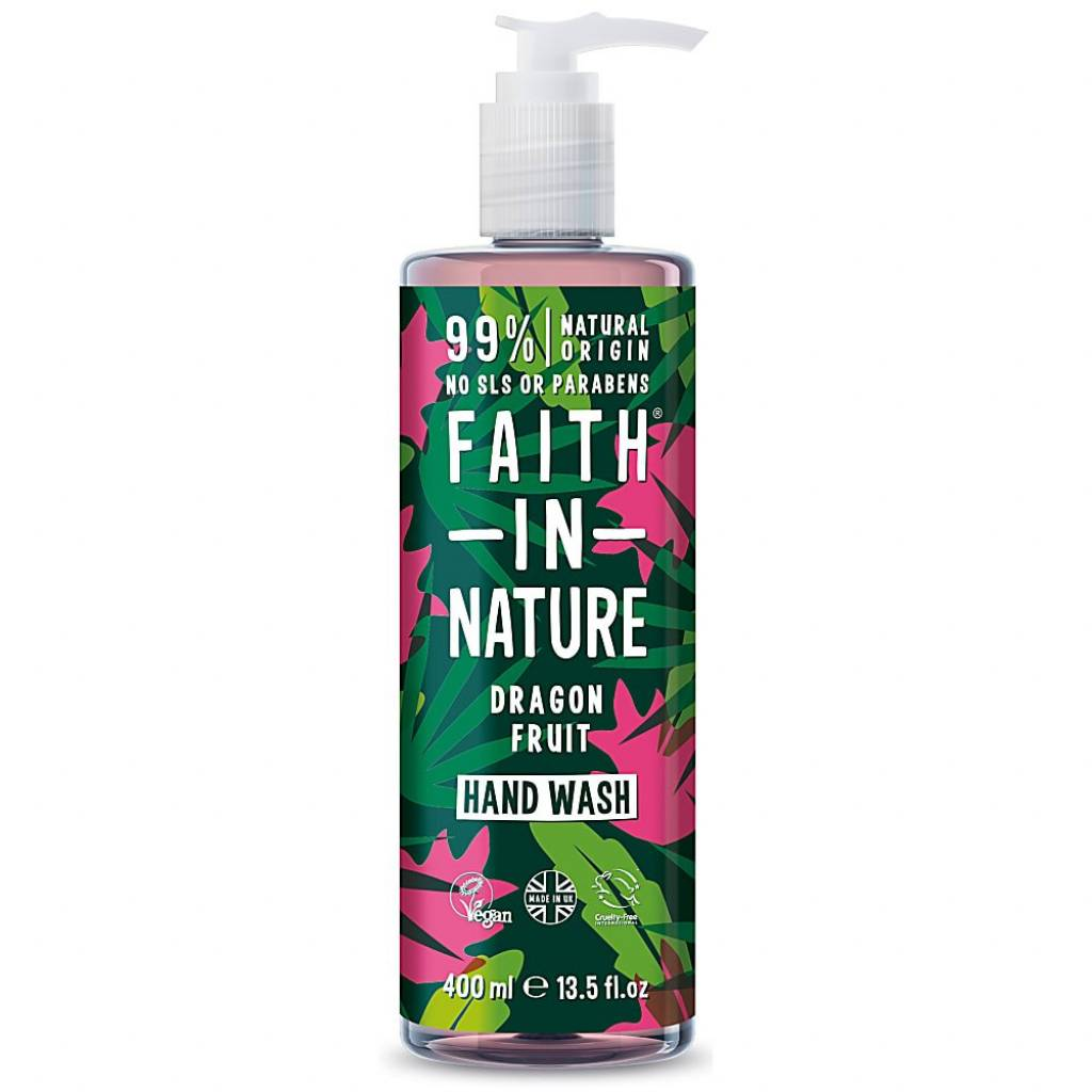 Faith in Nature Dragon Fruit Hand Wash 400ml gallery image #1