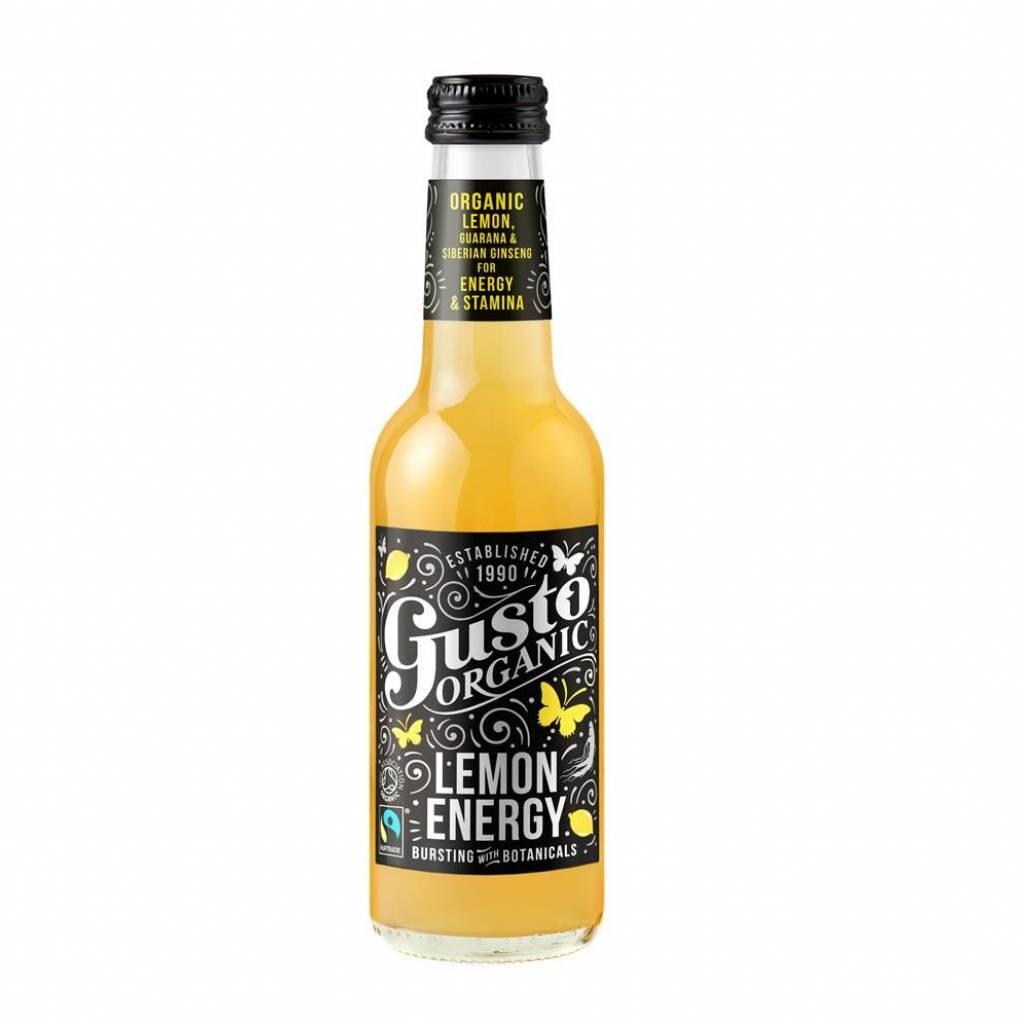 Gusto Organic Lemon Energy (4x250ml) gallery image #1