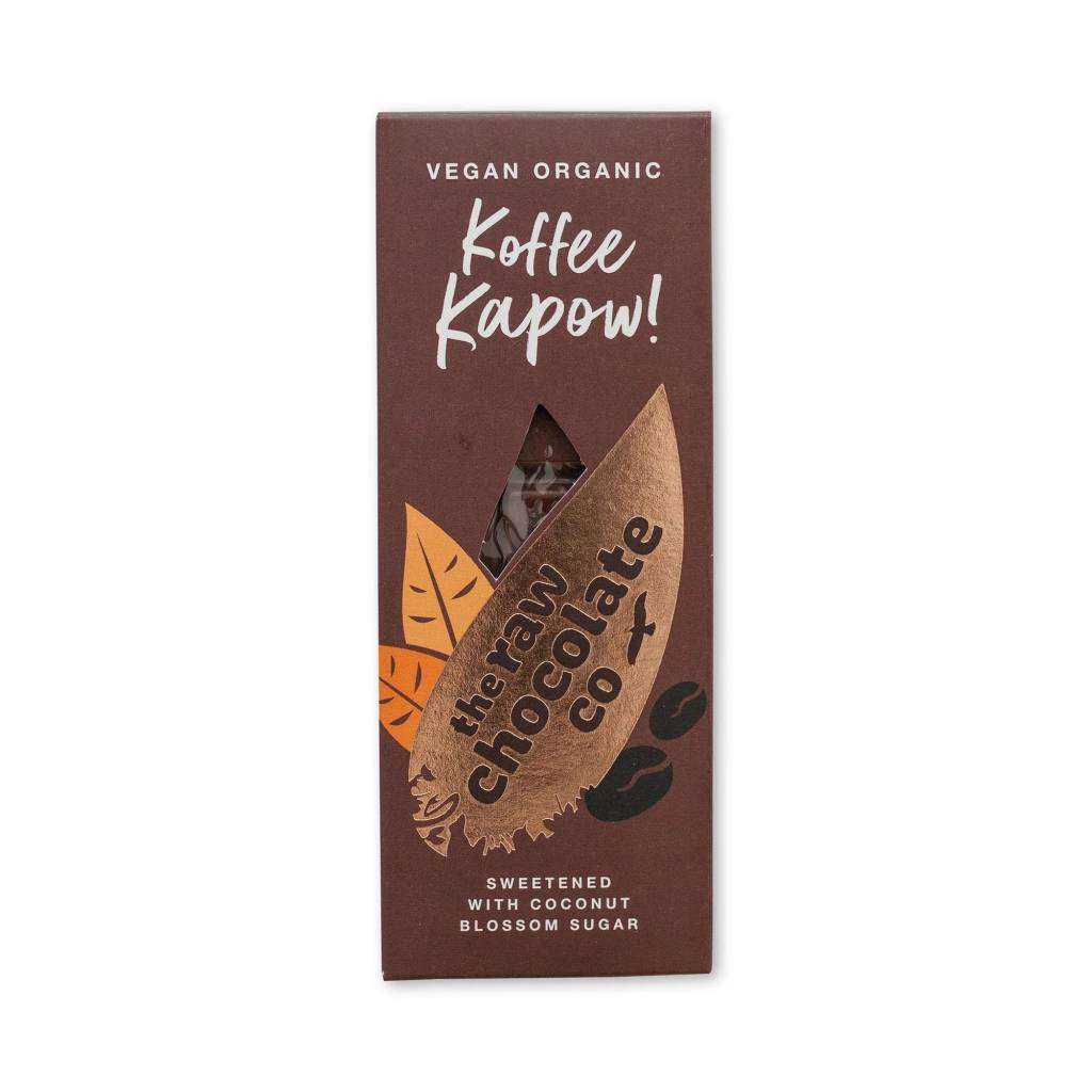 The Raw Chocolate Co - Koffee Kapow Bar (38g) gallery image #1