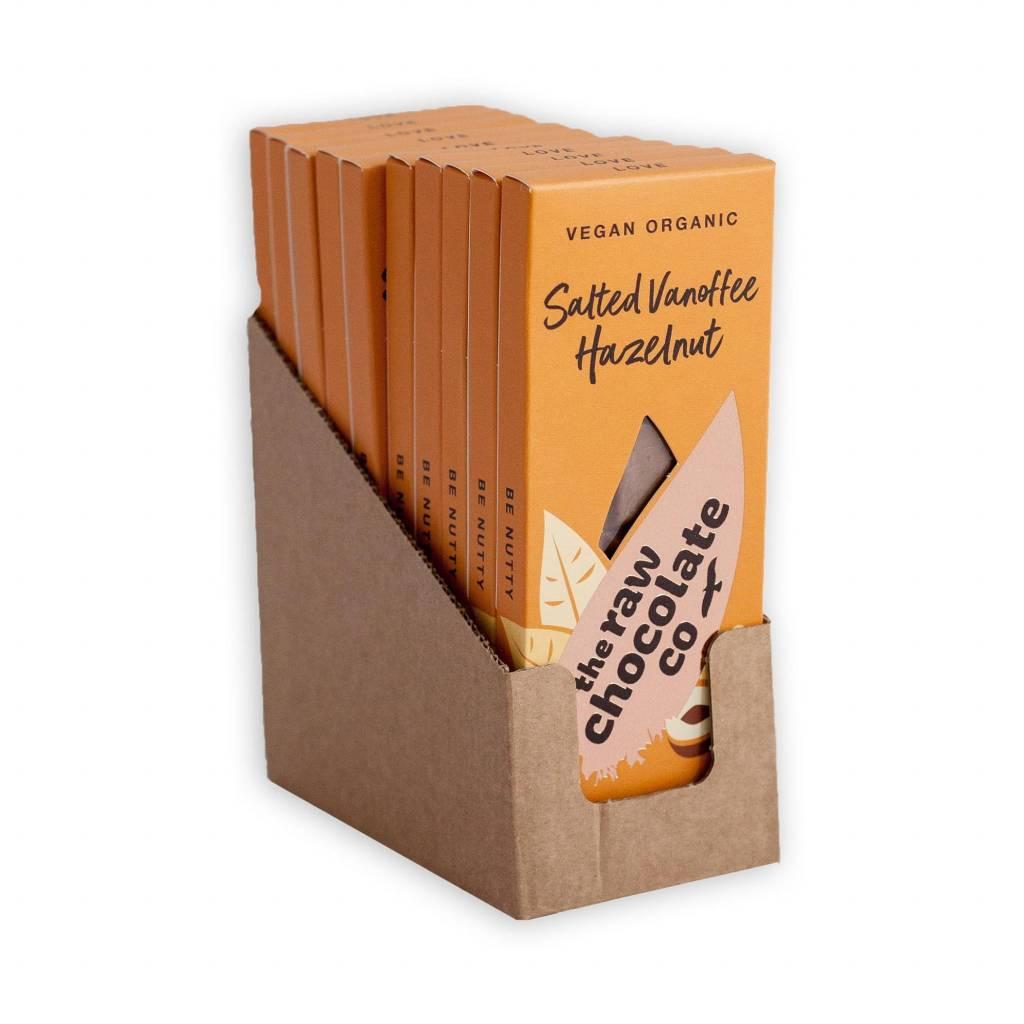 The Raw Chocolate Co - Salted Vanoffee Hazelnut Bar (38g) gallery image #2