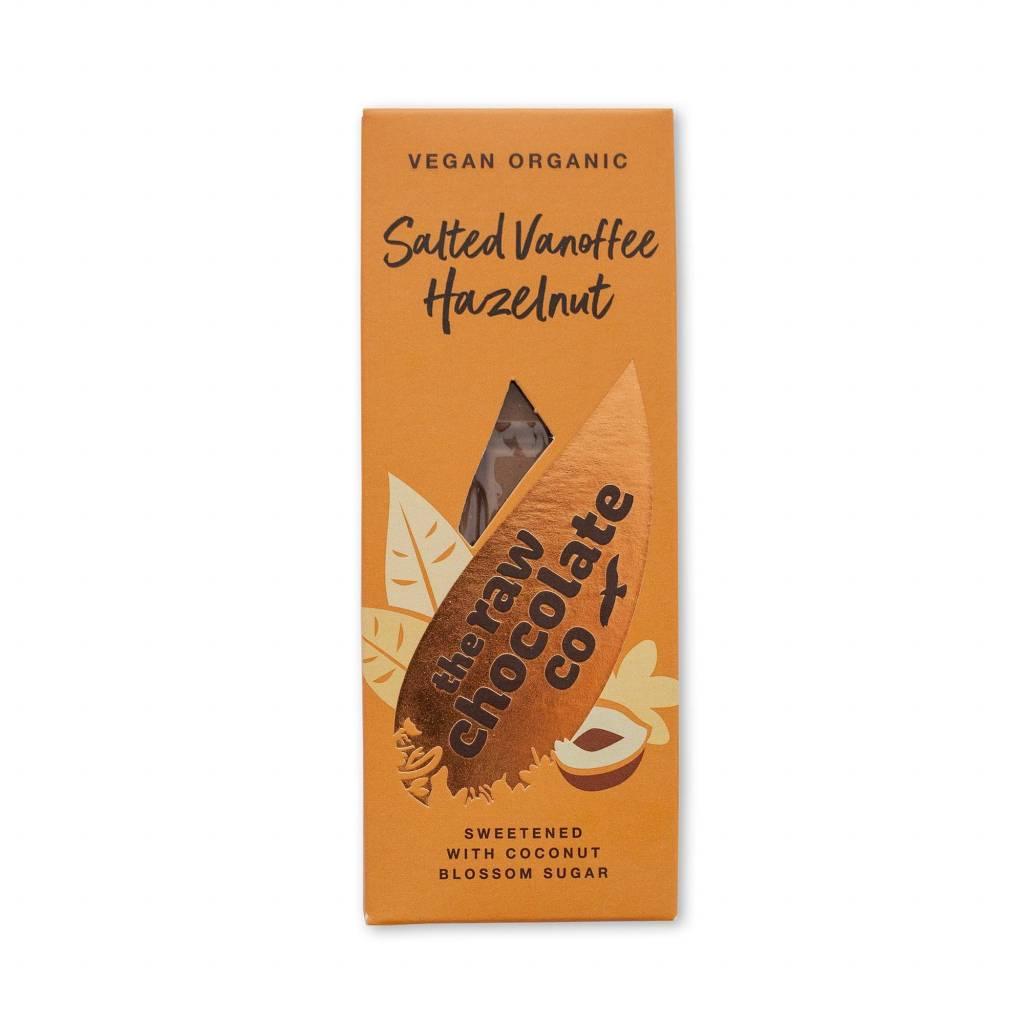 The Raw Chocolate Co - Salted Vanoffee Hazelnut Bar (38g) gallery image #1