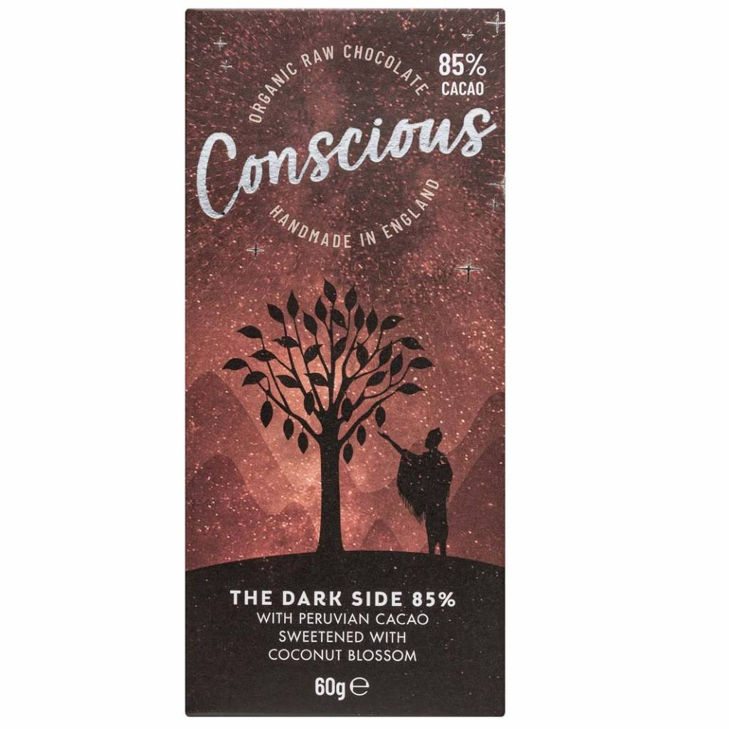 Conscious Chocolate Dark 85% (60g) gallery image #1