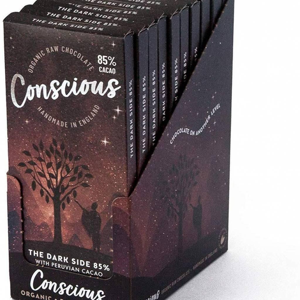 Conscious Chocolate Dark 85% (60g) gallery image #2