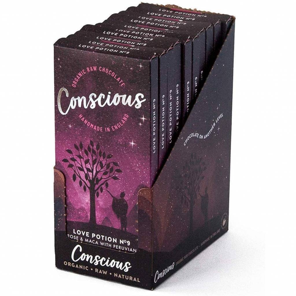 Conscious Chocolate Love Potion No. 9 (60g) gallery image #2