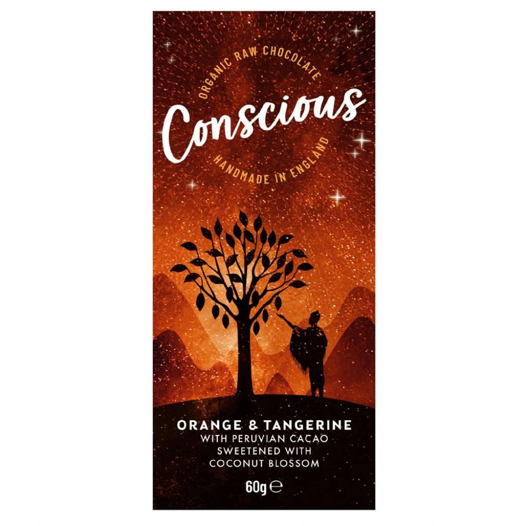 Conscious Chocolate Orange & Tangerine (60g) gallery image #1