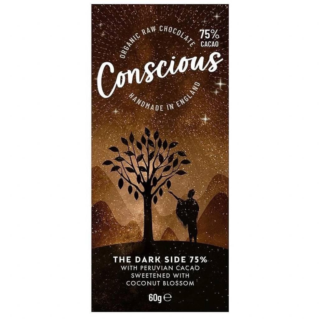Conscious Chocolate Dark 75% (60g) gallery image #1