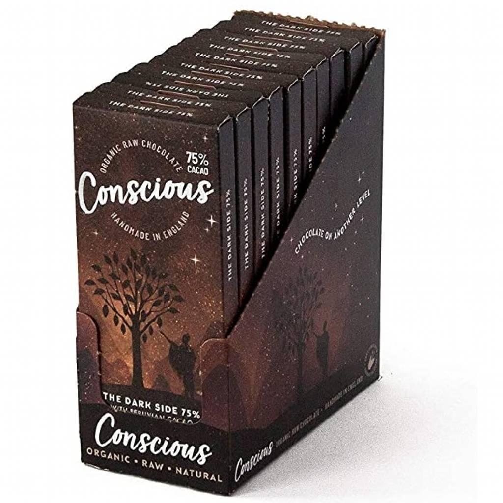 Conscious Chocolate Dark 75% (60g) gallery image #2