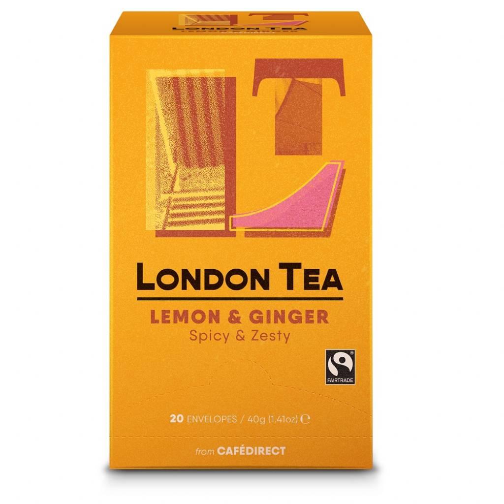 London Tea Company Lemon & Ginger (6x20) gallery image #1