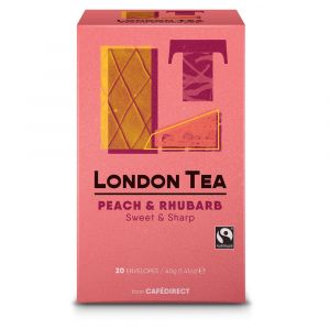 London Tea Company Peach & Rhubarb (6x20) main thumbnail