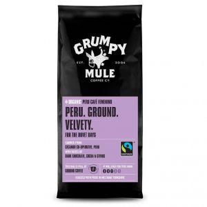 Grumpy Mule Peru Femenino Ground Coffee (227g) main thumbnail image