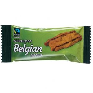 Fairtrade Speculoos Coffee Biscuits (300) main thumbnail