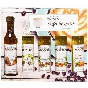 Monin Coffee Syrup Gift Set (5x5cl) main thumbnail