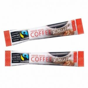 Fairtrade Decaf Instant Coffee Sticks (250x1.5g) main thumbnail