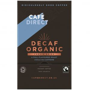 CafeDirect Decaf Organic Freeze Dried Coffee Sticks (250) main thumbnail image