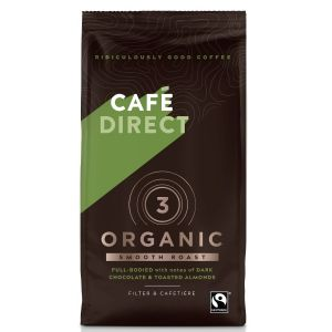 Cafedirect Smooth Roast Organic Blend Coffee (6x227g) main thumbnail image