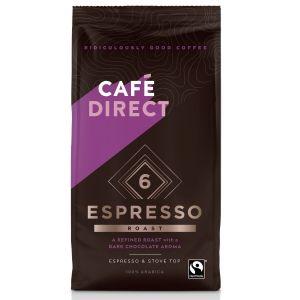 CafeDirect Espresso Roast Ground Coffee (227g) main thumbnail