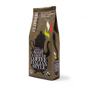 Clipper Fairtrade Organic Italian Ground Coffee (8x227g) main thumbnail