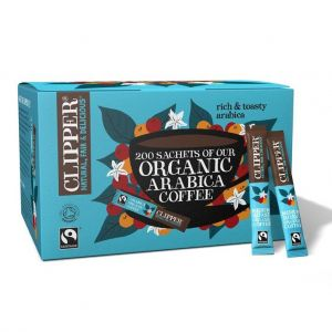 Clipper Organic Fairtrade Arabica Coffee (200 Sticks) main thumbnail