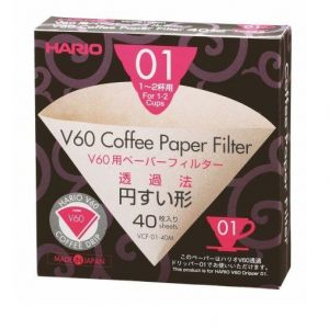 Hario V60 Filter Papers 01 (40 Sheets) main thumbnail