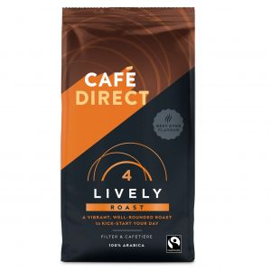 Cafedirect Lively Roast Ground Coffee (227g) main thumbnail