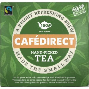 CafeDirect Foil Wrap Tea Bags (160) main thumbnail
