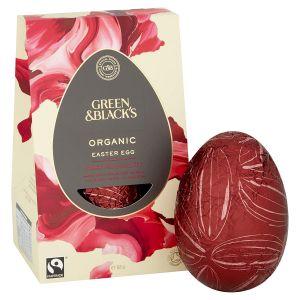 Green & Blacks Organic Thick-Shelled Dark Chocolate Egg (165g) main thumbnail