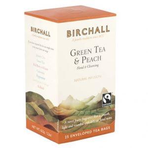 Birchall Green Tea and Peach Enveloped Tea (25) main thumbnail