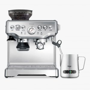 Sage Barista Express Bean-to-Cup Coffee Machine, Stainless Steel main thumbnail