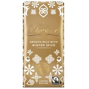 Divine Milk Chocolate with Winter Spice (100g) main thumbnail image